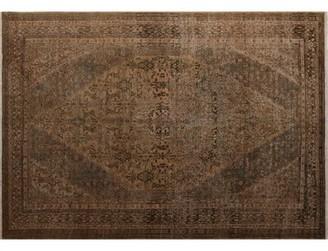 """Bloomsbury Market One-of-a-Kind Sadik Handmade Kilim 6'8"""" x 9'5"""" Wool Brown/Beige Area Rug"""