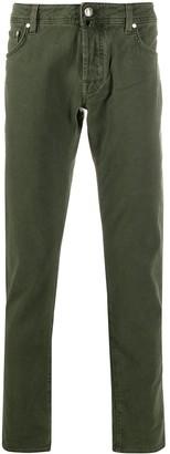 Jacob Cohen Five-Pocket Slim-Fit Jeans