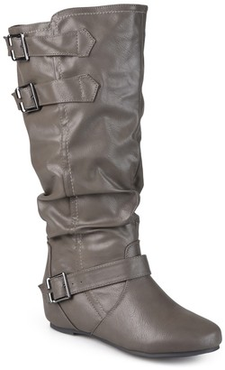Journee Collection Tiffany Slouchy Riding Boot - Extra Wide Calf