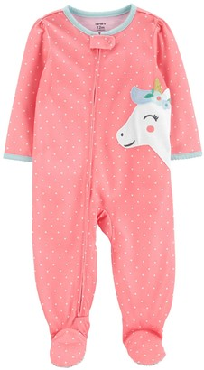 Carter's Toddler Girl Unicorn Footed Pajamas