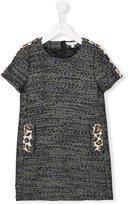 Little Marc Jacobs jacquard dress - kids - Acrylic/Polyamide/Polyester/Metallic Fibre - 4 yrs