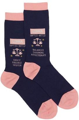 Hot Sox Libra Crew Socks