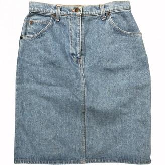 Valentino Blue Denim - Jeans Skirt for Women Vintage