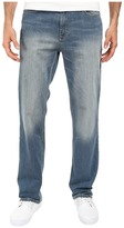 Calvin Klein Jeans Straight Denim in Silver Bullet