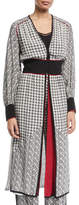 Talitha Collection Tabitha Scarf-Print Long Robe