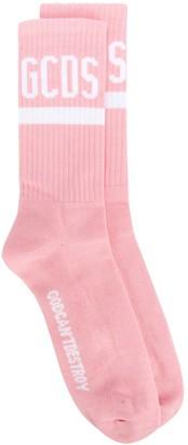 GCDS logo printed socks
