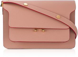 Marni Saffiano Calf Leather Crossbody Bag