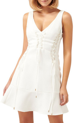 Forever New Isabel Lace Up Dress