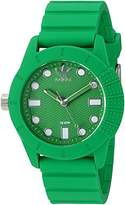 adidas 'ADH-1969' Quartz Plastic and Silicone Casual Watch, Color:Green (Model: ADH3105)