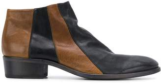 Fiorentini+Baker two tone ankle boots