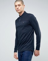 Farah Hampden Long Sleeved Polo Shirt