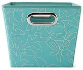 Michael Graves Design Printed Storage Bin - Aqua