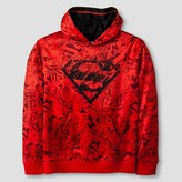 Superman Boys' Red Pullover