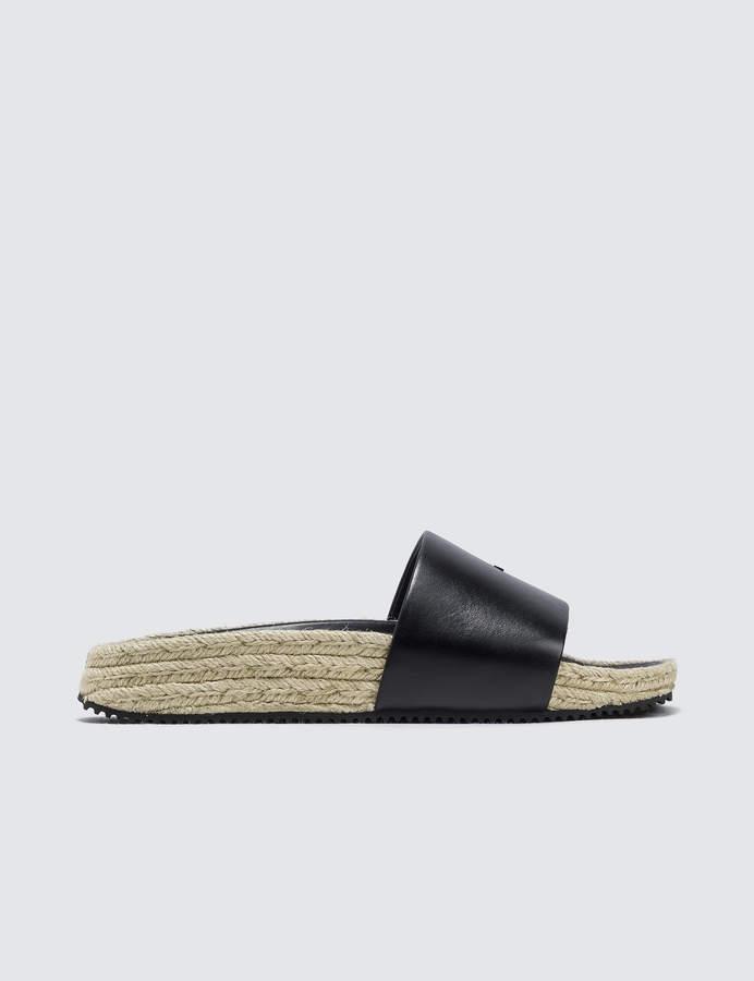 Alexander Wang Suki Black Leather
