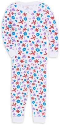 Roller Rabbit Baby Girl's, Little Girl's & Girl's Aeolian Islands Posei Footie Pajamas