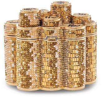 Judith Leiber Coins Clutch Bag