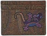 Etro Gecko Card Holder (Light Red) Bi-fold Wallet