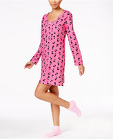 Charter Club Knit Sleepshirt and Socks Set, Only at Macy's