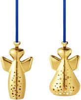Georg Jensen Michael & Raphael Tree Decoration Set - Gold Plated Brass