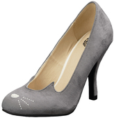 T.U.K. Gray Sophistakitty Bombshell Pump
