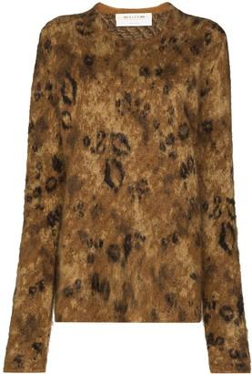 Alyx Leopard Jacquard Jumper