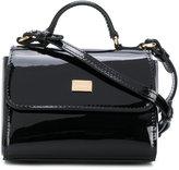 Dolce & Gabbana flap shoulder bag - kids - Leather - One Size