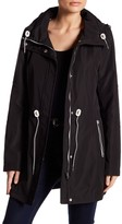 Jessica Simpson Polybonded Jacket with Hidden Hood