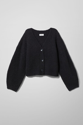 Weekday Hillevi Cardigan - Black