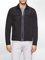 Calvin Klein Mens Lightweight Denim Trim Jacket