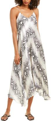 Acrobat Whitney Silk Maxi Dress