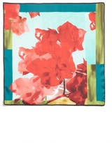 Lafayette 148 New York Women's Print Silk Scarf