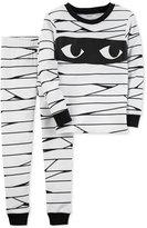 Carter's 2-Pc. Mummy Cotton Pajama Set, Toddler Boys (2T-5T)