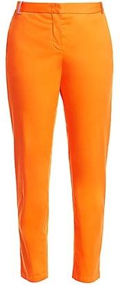 Fabiana Filippi Embellished Belt Loop Straight Leg Trousers