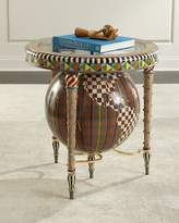Mackenzie Childs MacKenzie-Childs Plaiditudes Side Table