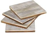 Mela Artisans Pinstripe Coasters