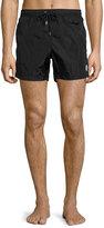 Moncler Nylon Swim Shorts, Black
