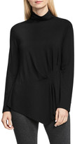 Vince Camuto Ruched Side Turtleneck Blouse