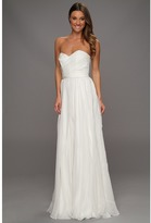 Badgley Mischka Strapless Bridal Gown (Ivory) - Apparel