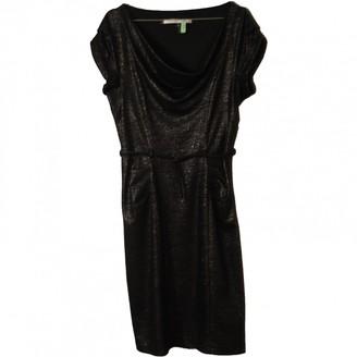 Diane von Furstenberg Metallic Wool Dresses