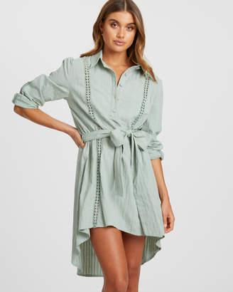 Marsala Shirt Dress