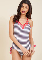 High Dive by ModCloth The Mast Hurrah One-Piece Swimsuit in XS