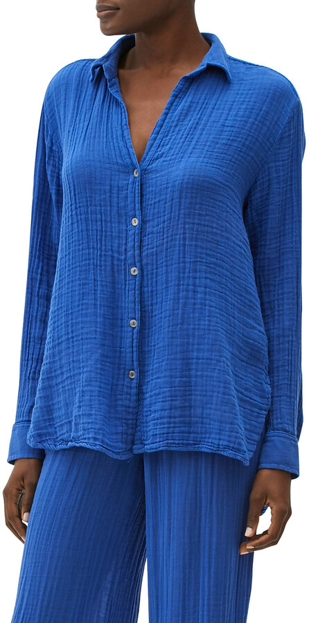 Thumbnail for your product : Michael Stars Gauze Button-Down Top