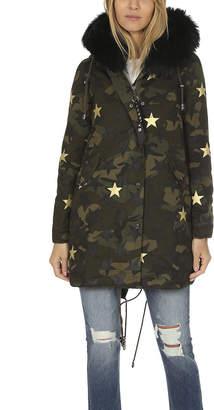 Jocelyn Camo Stars Duffle Coat