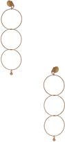 Stella McCartney Brass Drop Earrings