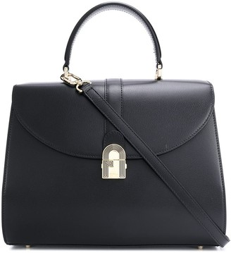 Furla Top Handle Foldover Top Tote Bag
