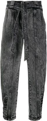 Ulla Johnson Tie-Waist Tapered Jeans