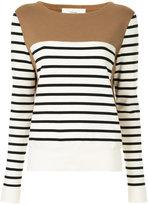 Cyclas striped panel jumper
