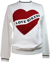 Zoe Karssen i Love Bikers White Sweatshirt