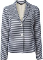 Fay striped blazer - women - Cotton/Polyamide/Spandex/Elastane/Viscose - 46