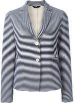 Fay striped blazer - women - Cotton/Spandex/Elastane/Polyamide/Viscose - 46